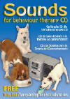 A CD that includes the sounds of a drill, fireworks, planes and loud vehicles - every sort of noise a dog will come across. 