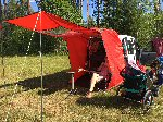PACKA SHACK TAILGATE AWNING